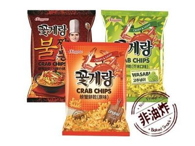 【韓味不二】韓國Binggrae螃蟹餅乾六入口味任選 熱銷 韓國餅乾必買 (7.3折)