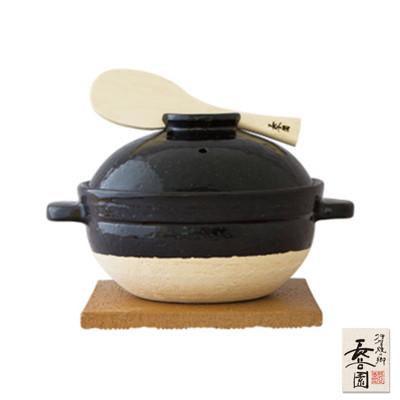 【日本長谷園伊賀燒】遠紅外線節能日式炊飯鍋(2-3人) (8.3折)