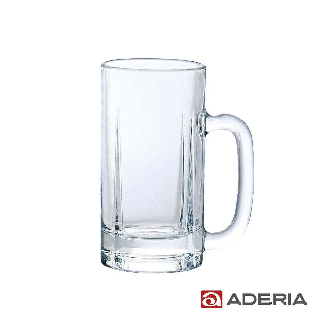 aderia日本進口玻璃啤酒杯500ml(適量款)