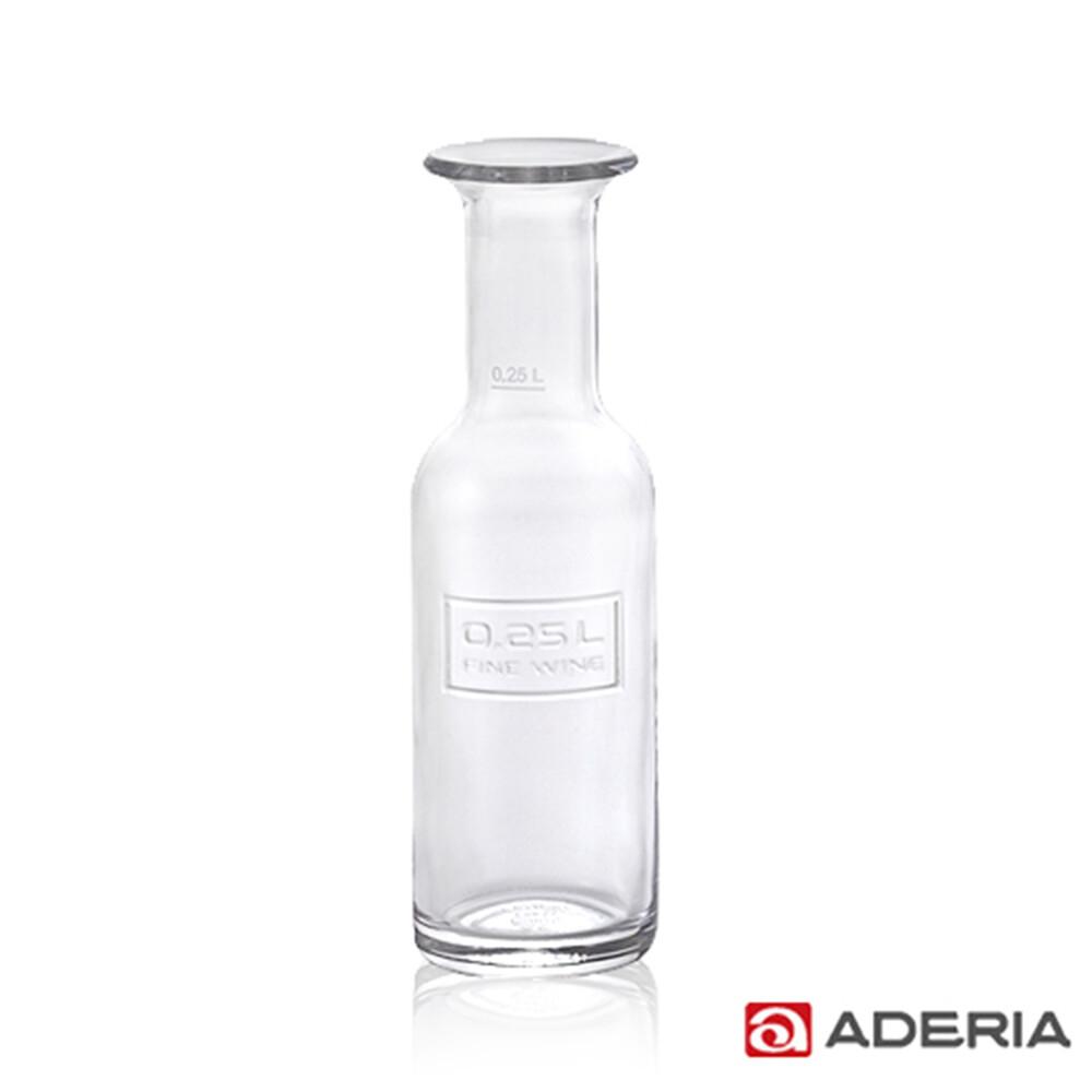 aderia日本進口透明玻璃酒瓶250ml