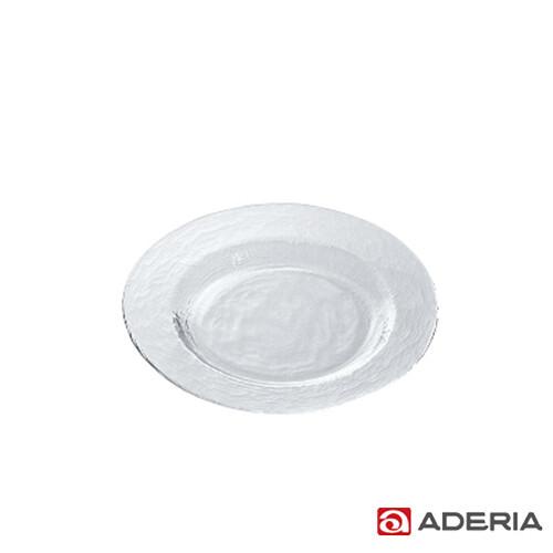aderia日本進口biscuit系列玻璃淺型餐盤21cm