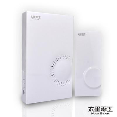【太星電工】SKANDIA 時尚無線音樂門鈴/電池式 DR518W (3.7折)
