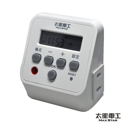 【太星電工】省電家族時尚數位式定時器 OTM328 (3.6折)