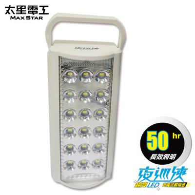【太星電工】夜巡俠超亮LED充電式照明燈 IF600 (8折)
