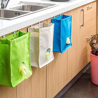 橱櫃帆布掛式儲物袋 / 收納袋(3色可選) (4.5折)