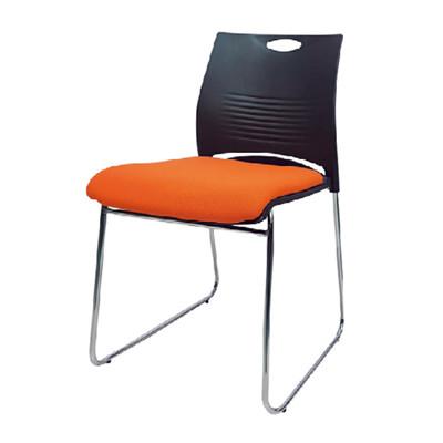 【ONE 生活】里托雷克斯訪客椅(黑+橘/黑+黑/黑+綠) (5折)