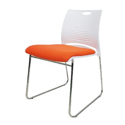 【ONE 生活】里彩雷克斯訪客椅(白+橘/白+黑/白+綠) (5折)