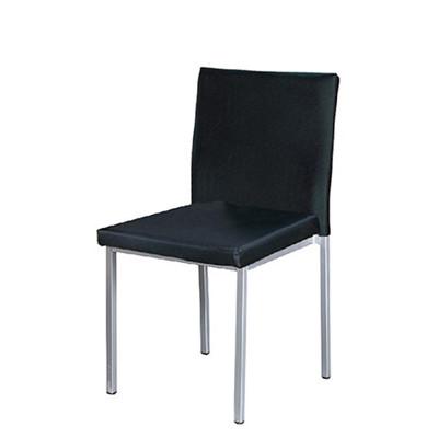 【ONE 生活】約比斯餐椅(黑皮) (4.5折)
