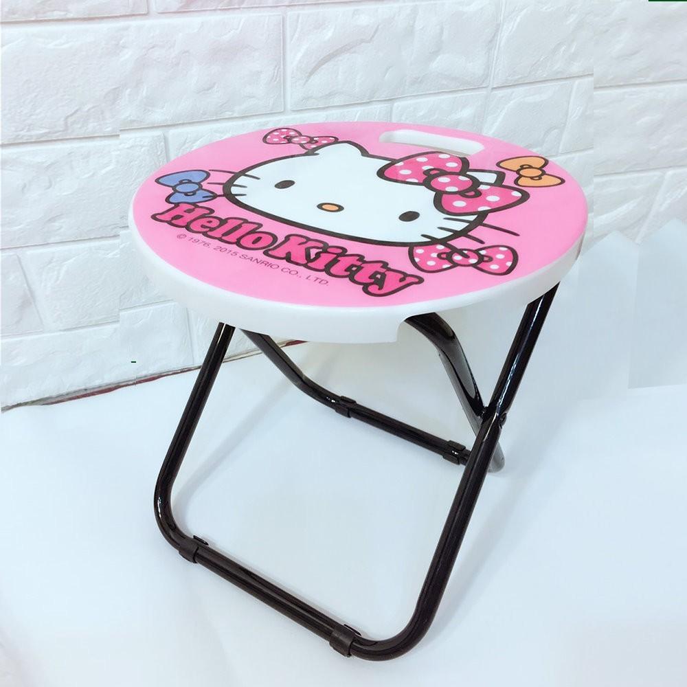 三儷鷗-正版-hello kitty手提式折合椅/折疊椅/輕巧椅/兒童椅