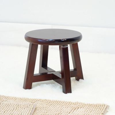 【ONE 生活】復古圓矮凳(胡) (4.5折)