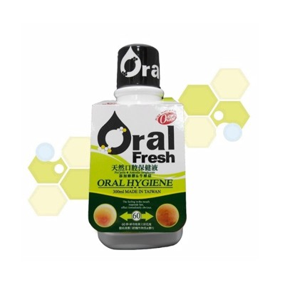 Oral Fresh歐樂芬天然口腔保健液-300ml (8.7折)