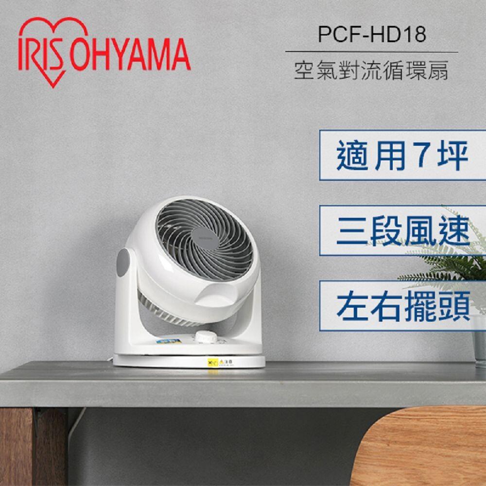 日本 iris 空氣循環扇 pcf-hd18w hd18 空氣對流循環扇 群光公司