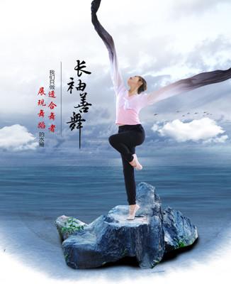 驚鴻舞甩袖成人藏族舞蹈服古典舞演出服練功水袖舞服裝上衣女 (5折)