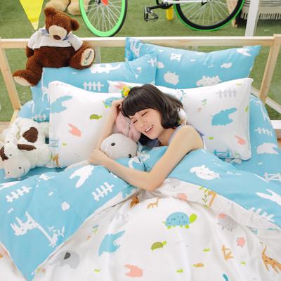 【CHERI】台灣製 超細纖 雙人-床包枕套3件組 (3.8折)