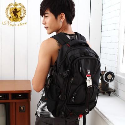 後背包 防水高磅尼龍金屬扣電腦包包 NEW STAR BK75 (4.3折)
