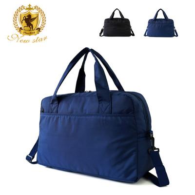 肩背包 日系極簡超大容量口袋旅行袋(可掛旅行箱) NEW STAR BB38 (3.8折)