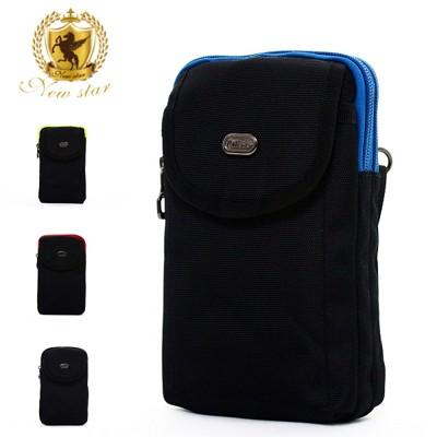 腰包 輕便尼龍撞色雙層掛包側背包包手機袋 NEW STAR BW32 (4.2折)