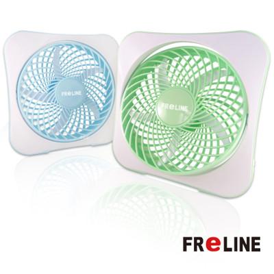 【經濟包】FReLINE 兩段式8吋DC節能電風扇 / USB / 辦公室 / 閱讀 FF-1003 (3.7折)