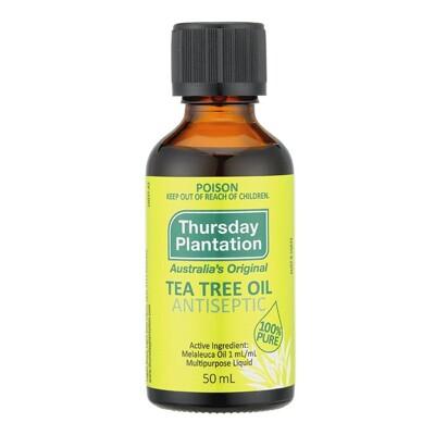 【星期四農莊Thursday Plantation】抗菌茶樹精油50ml(感受澳洲100%認證精油 (5.7折)