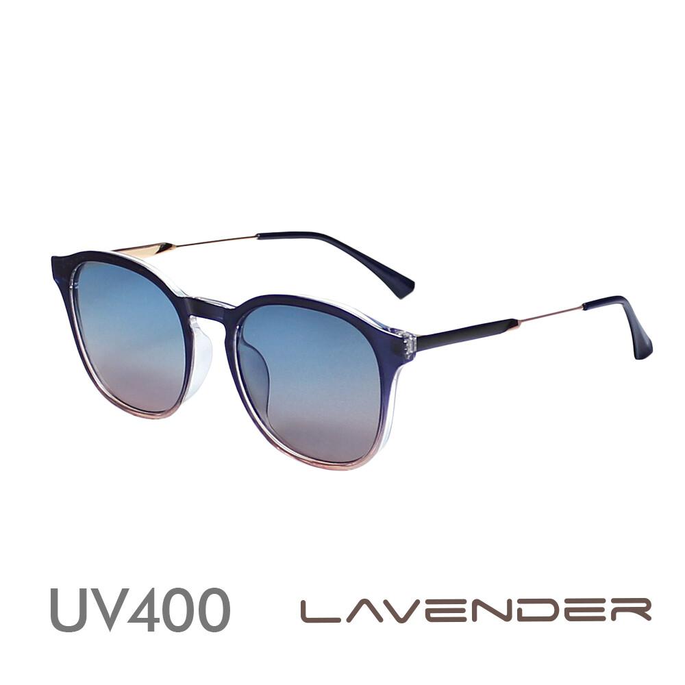 lavender 偏光太陽眼鏡 韓版時尚漸層-藍粉漸層j2037 c369