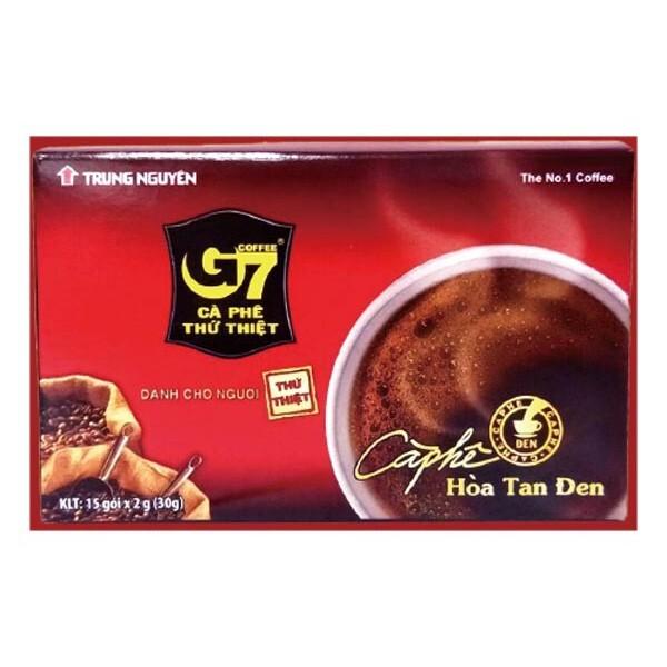 越南 g7 純咖啡15入(盒裝) 黑咖啡/無糖咖啡/即沖式