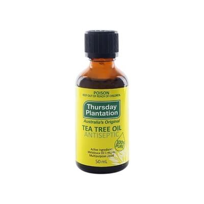 Thursday Plantation 澳洲星期四農莊~茶樹精油(50ml) 精油/潤膚油/身體保養 (8.1折)