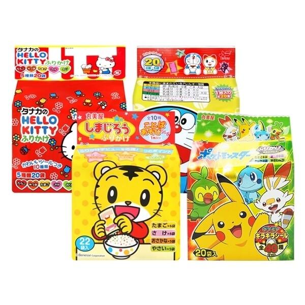 日本 hello kitty哆啦a夢小老虎怪獸寶貝角落生物 飯友(1袋入) 款式可選