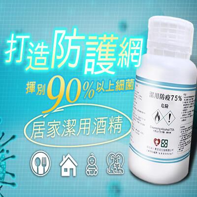 潔用防疫75%酒精(500ml) 酒精/防疫/抗菌 (3.5折)
