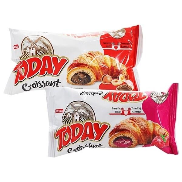 土耳其 today~可頌麵包(單顆45g) 巧克力草莓 款式可選 零食/團購/可頌 d604674
