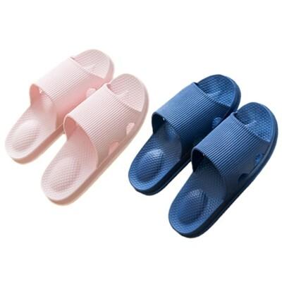 加厚pvc防滑靜音浴室拖鞋家居拖鞋(1雙入) 顏色/尺寸可選 d021598 (5.9折)