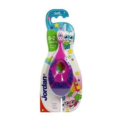 挪威 Jordan 兒童牙刷(0-2歲)1入 顏色隨機出貨 牙刷/兒童牙刷/牙膏 (9.3折)