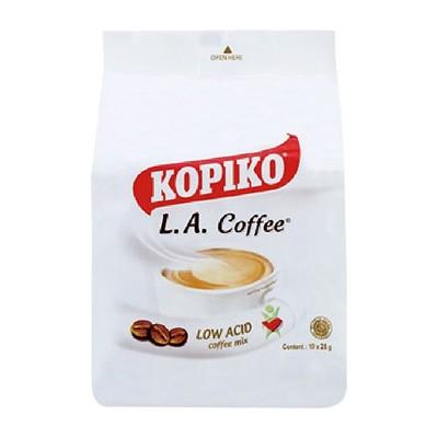 印尼 KOPIKO LA三合一即溶白咖啡(250g) 沖泡飲品/白咖啡/進口飲品 (4折)