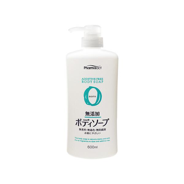 日本熊野~pharmaact無添加沐浴乳(600ml) 身體清潔/洗澡/沐浴乳