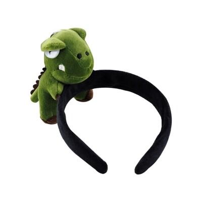 Dadaisun~恐龍立體髮圈(1入) 髮圈/髮飾/髮箍 (6.1折)