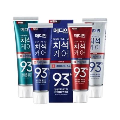 韓國 Median~93%強效淨白去垢牙膏(120g) 4款可選  升級版 牙膏/美齒/亮白牙膏 (3折)