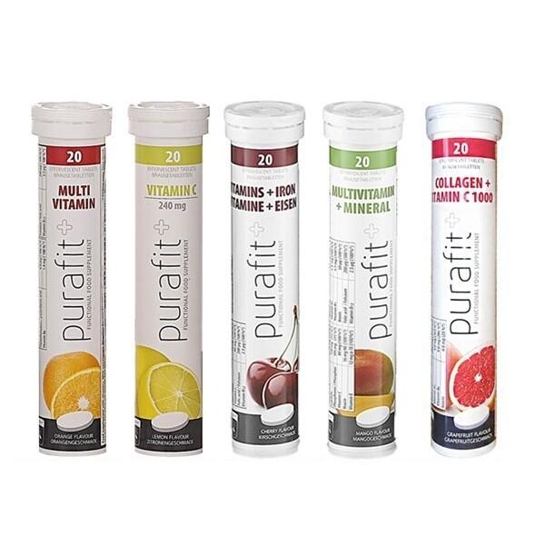 德國purafit~發泡錠(20錠入) 多款可選 發泡錠/營養補給/維他命