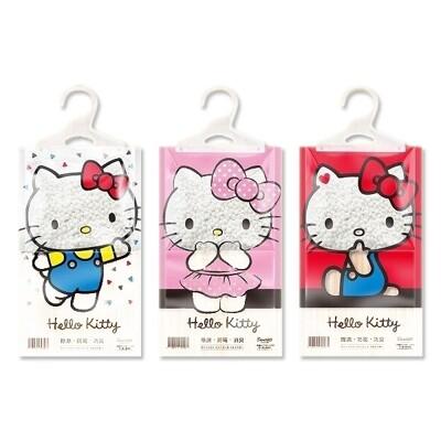 Hello Kitty~懸掛式除濕袋(1入) 包裝隨機出貨 除濕袋/除溼盒/除溼機 (1.9折)
