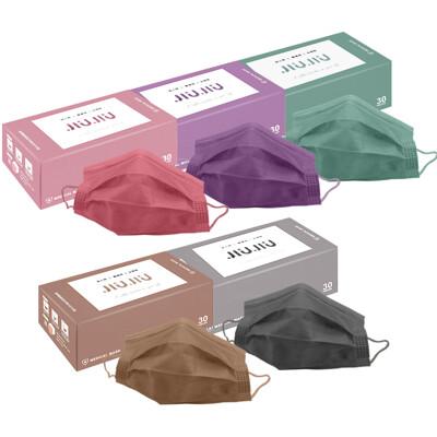 親親 JIUJIU~成人醫用口罩(30入)紗霧系列 款式可選  MD雙鋼印 DS000638
