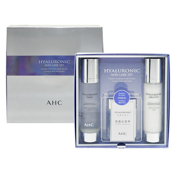 年節禮盒 韓國 a.h.c~玻尿酸神仙水保養組合(4件入)  玻尿酸禮盒/保養組合/送禮