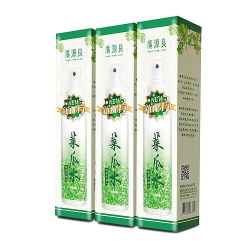廣源良 新配方菜瓜水(100mlx3入組) 化妝水/絲瓜水/廣源良