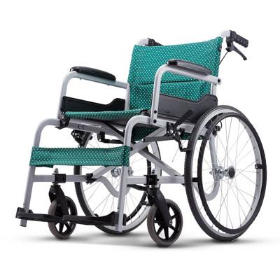康揚KARMA SM-100.5 飛揚100 入門基本系列 手動鋁合金輪椅 輪椅-B款(輕量化) (8.4折)