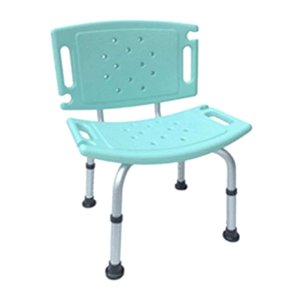 來而康 er-5002 有背洗澡椅 居家輔具 鋁合金防滑洗澡弧型坐椅