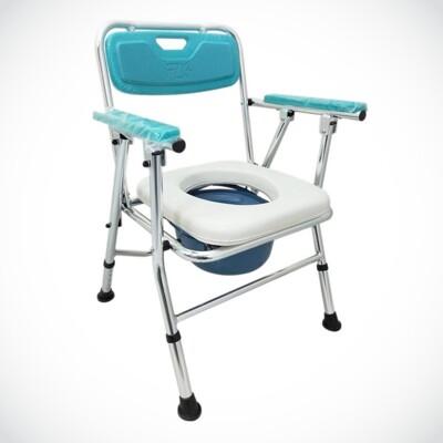 來而康 FZK-4527 鋁合金 便椅 可收合 (8.9折)