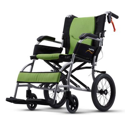 康揚KARMA KM-2501 旅弧 超輕量型輪椅(8.6KG) 外出旅遊首選 體貼照護者輪椅B款 (9.3折)