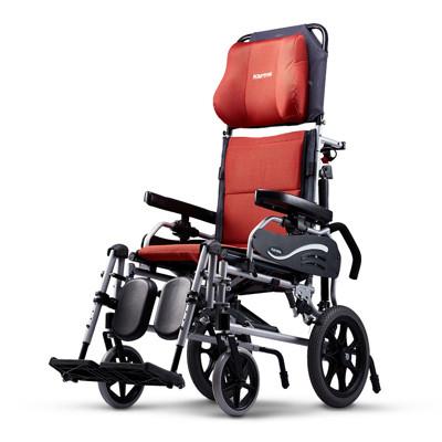 """康揚KARMA KM-5001 水平椅501 仰躺系列 照護款高背輪椅型F14""""F20"""" 輪椅-B款 (8.9折)"""