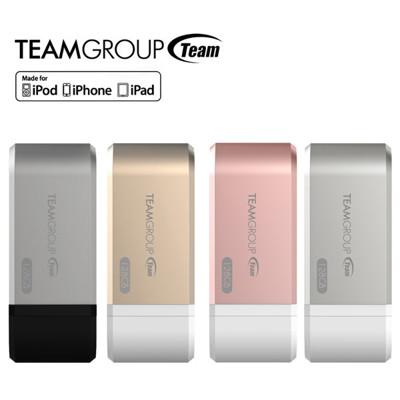 TEAM Mostash WG02 128G魔立碟 Apple OTG支架手機電腦隨身碟(4色) (6.3折)
