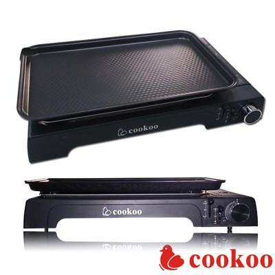 (韓國原裝)cookoo專業休閒瓦斯烤盤COWG-6300贈收納袋 (5.7折)