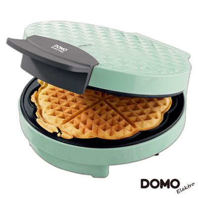 比利時DOMO-菱格紋鬆餅機 DM9007WT (湖水綠) (6.5折)