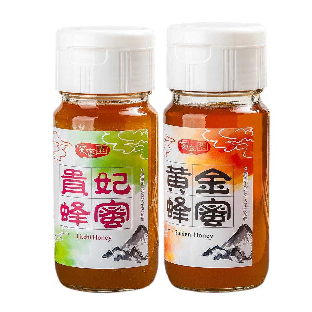 愛蜜園嚴選黃金蜂蜜貴妃蜂蜜(700gx2)