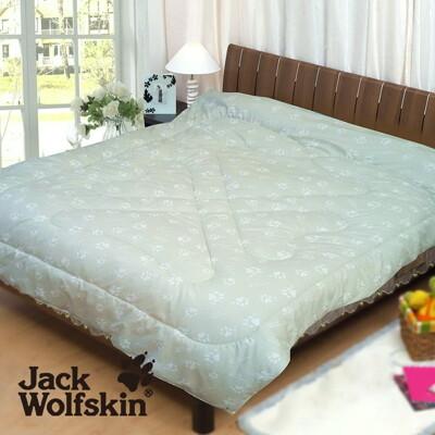 Jack Wolfskin 專利銀離子抗菌發熱雙人被胎(銀綠) 6x7尺 (9.1折)